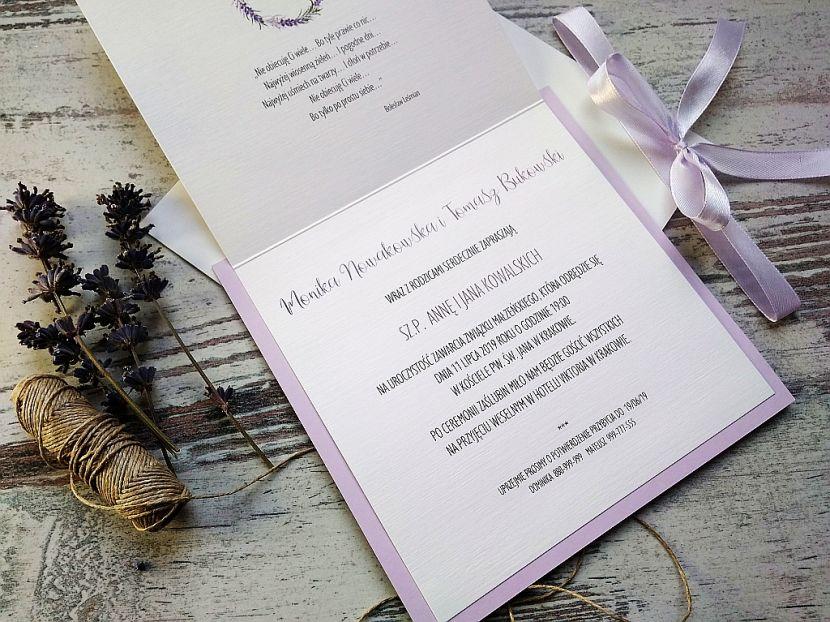 Zaproszenia ślubne: Nowości NW693 - zdjęcie nr 2
