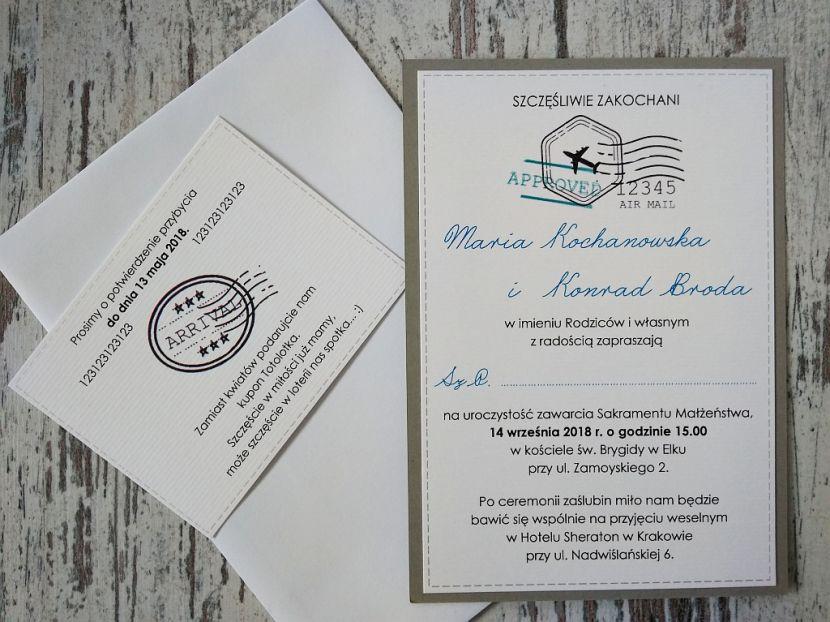 Zaproszenia ślubne: Nowości q30 - zdjęcie nr 1