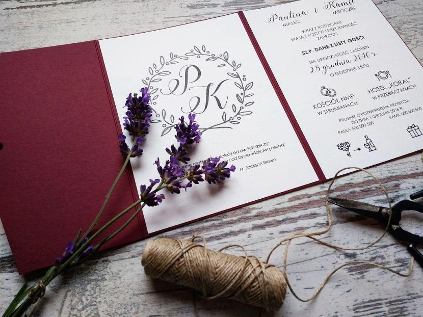 Zaproszenia ślubne: Nowości LP95 - zdjęcie nr 2