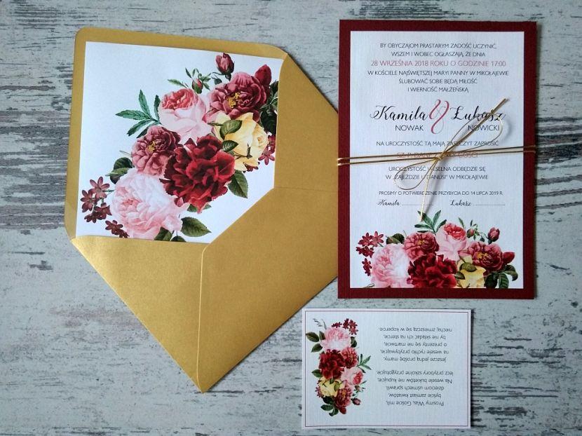 Zaproszenia ślubne: Nowości df37 - zdjęcie nr 1