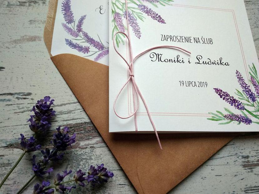 Zaproszenia ślubne: Nowości PL94 - zdjęcie nr 3