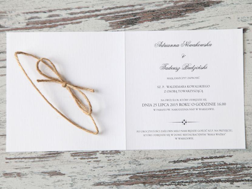 Zaproszenia ślubne: Pastellove PL51 - zdjęcie nr 3