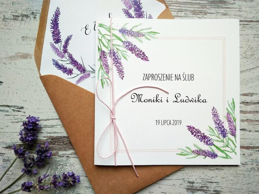 Zaproszenia ślubne: Nowości PL94 - zdjęcie nr 1