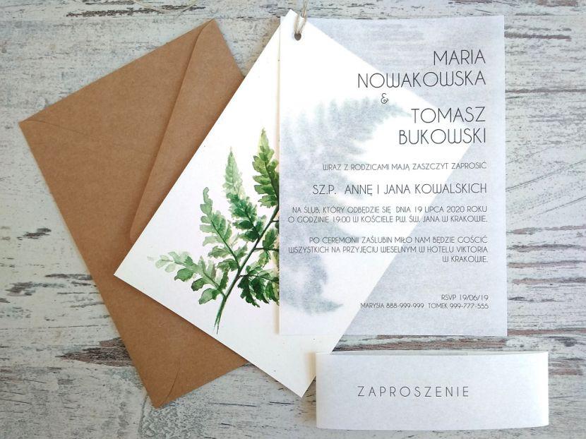 Zaproszenia ślubne: Nowości N202012 - zdjęcie nr 1