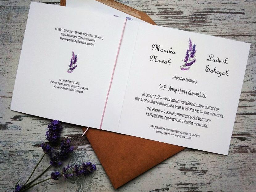 Zaproszenia ślubne: Nowości PL94 - zdjęcie nr 2