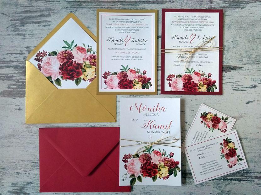 Zaproszenia ślubne: Nowości df37 - zdjęcie nr 3