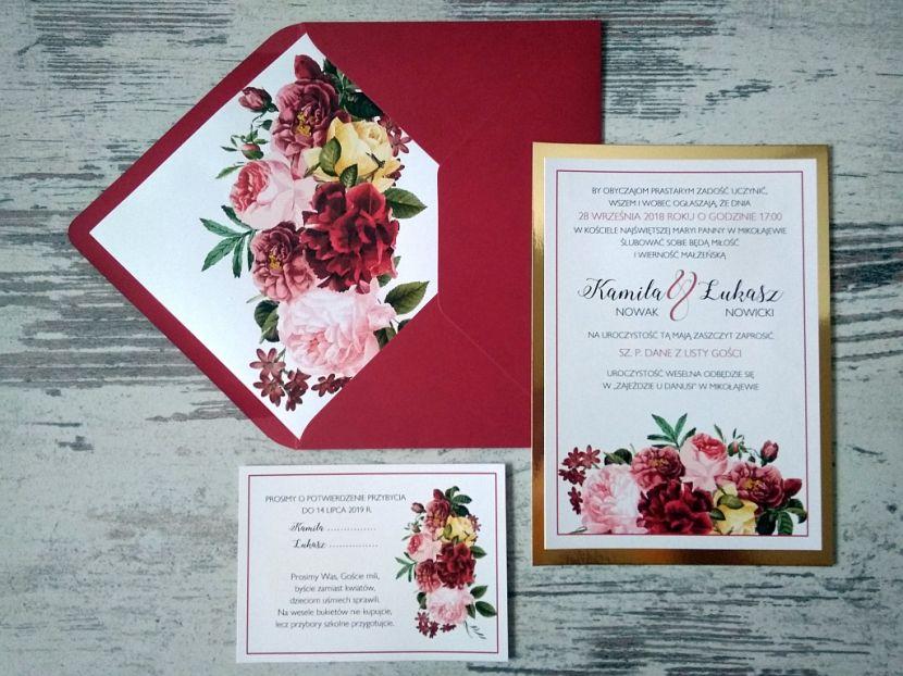 Zaproszenia ślubne: Nowości df36 - zdjęcie nr 1