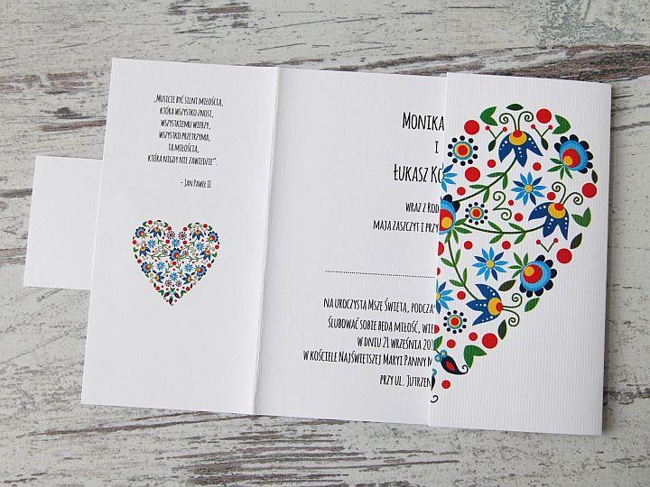 Zaproszenia ślubne: Folk&Boho FB15 - zdjęcie nr 2