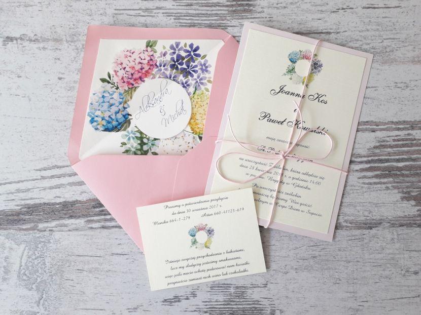 Zaproszenia ślubne: Pastellove PL55 - zdjęcie nr 1