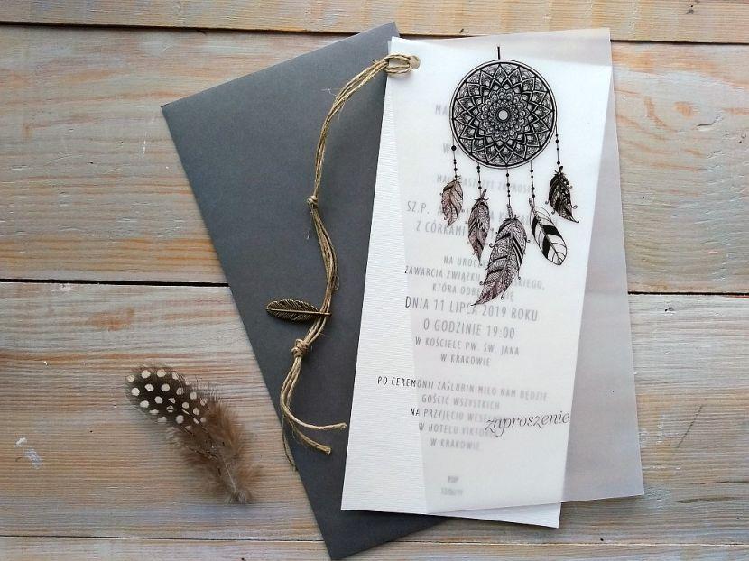 Zaproszenia ślubne: Nowości łs03 - zdjęcie nr 1