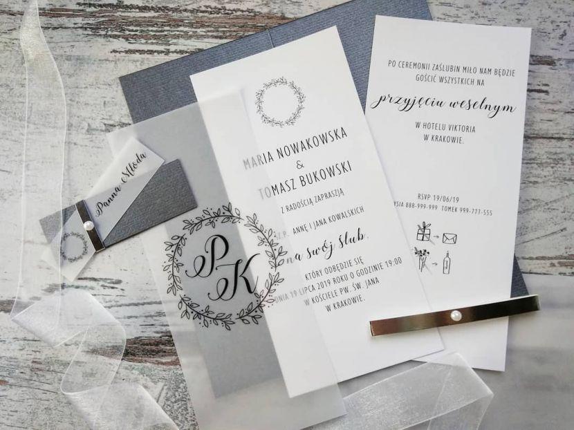 Zaproszenia ślubne: Nowości jt100 - zdjęcie nr 2