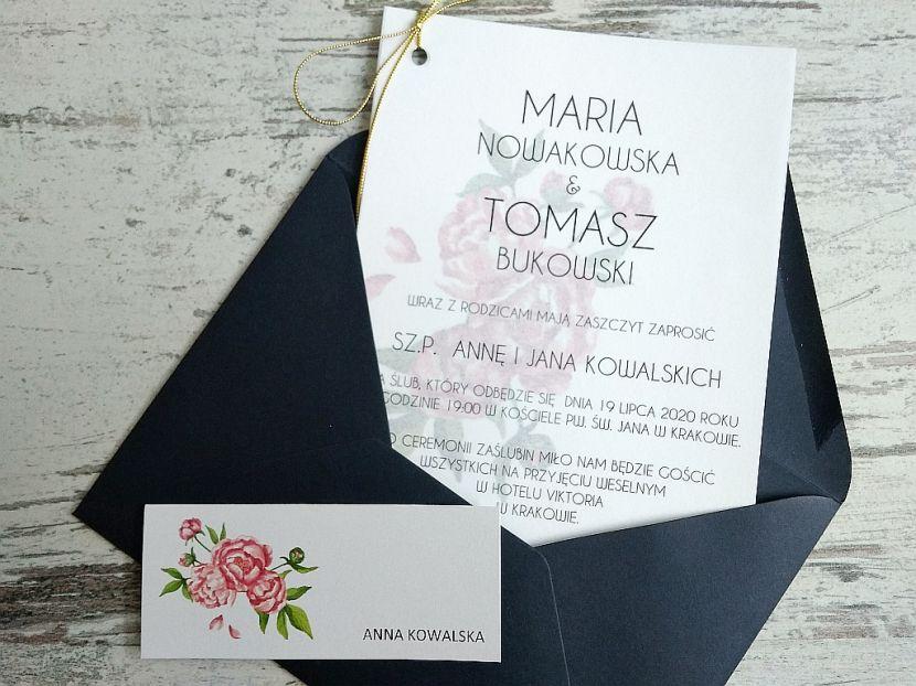 Zaproszenia ślubne: Nowości N20204 - zdjęcie nr 3