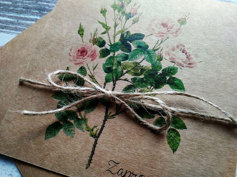 Zaproszenia ślubne: Vintage&Nature ot76 - zdjęcie nr 2