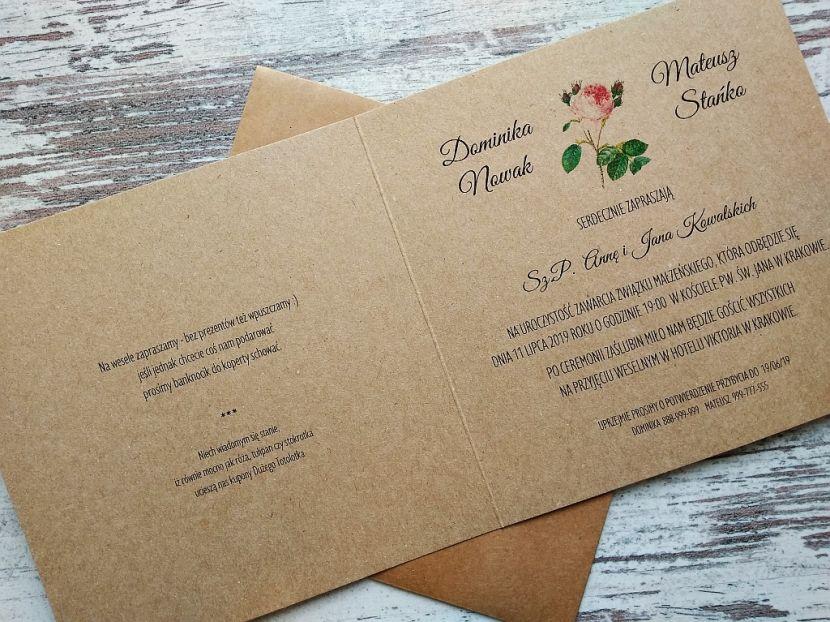 Zaproszenia ślubne: Nowości re91 - zdjęcie nr 3