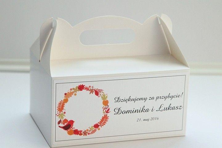 Dodatki: Pudełka na ciasto g7 - zdjęcie nr 1
