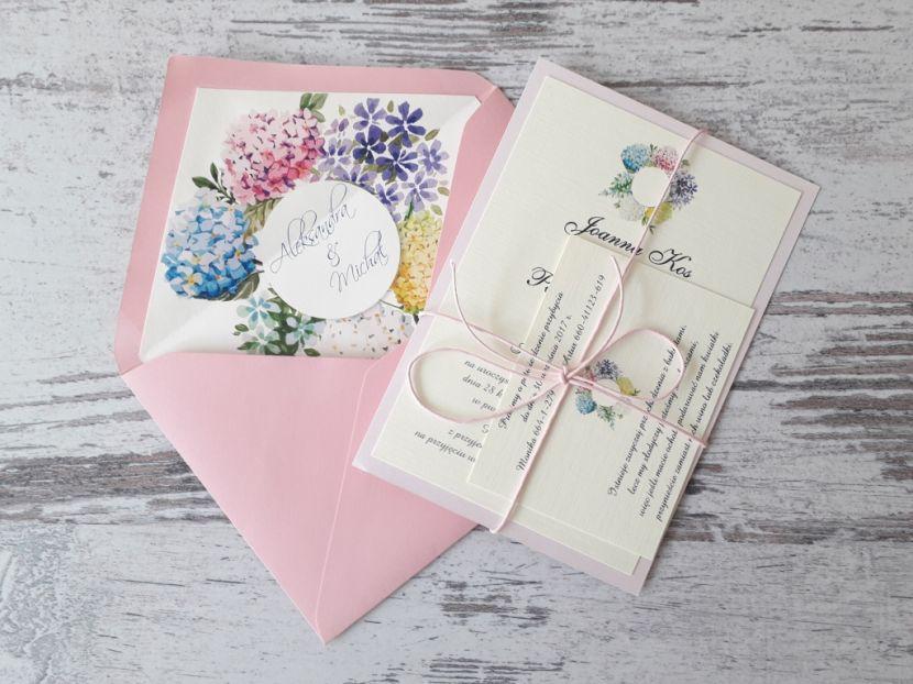 Zaproszenia ślubne: Pastellove PL55 - zdjęcie nr 3