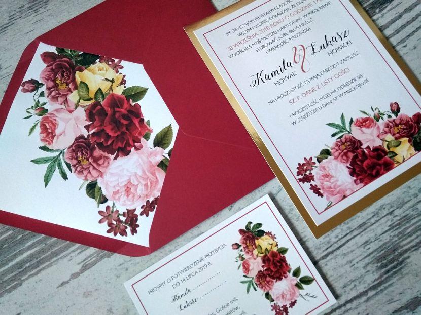 Zaproszenia ślubne: Nowości df36 - zdjęcie nr 2