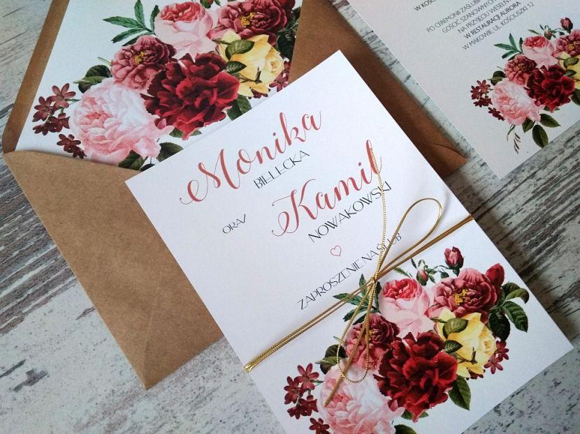 Zaproszenia ślubne: Nowości df40 - zdjęcie nr 2