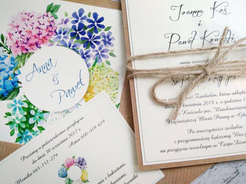 Zaproszenia ślubne: Vintage&Nature VN65 - zdjęcie nr 2