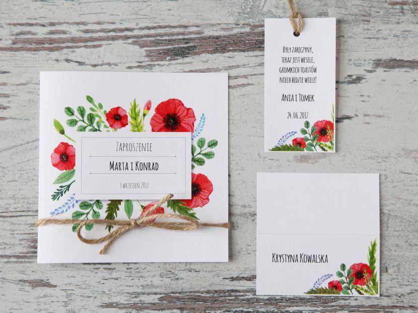 Zaproszenia ślubne: Pastellove PL51 - zdjęcie nr 2
