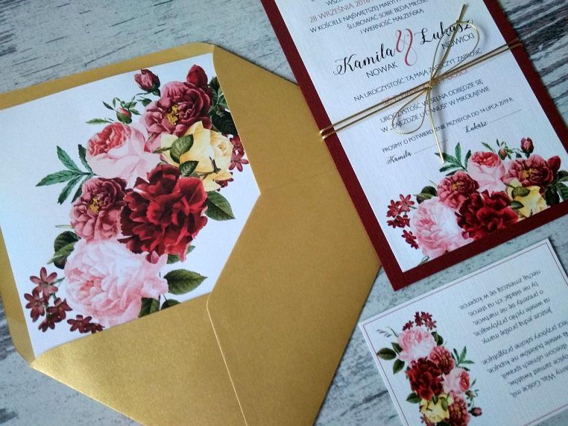 Zaproszenia ślubne: Nowości df37 - zdjęcie nr 2