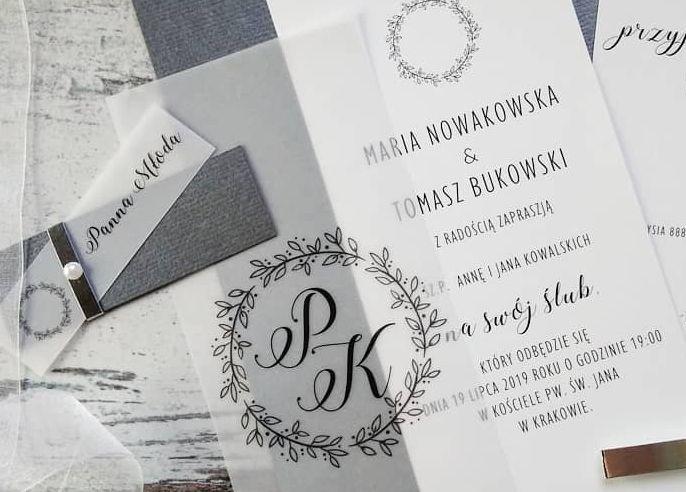 Zaproszenia ślubne: Nowości jt100 - zdjęcie nr 3