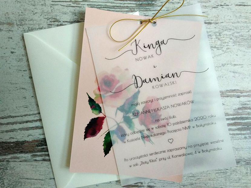 Zaproszenia ślubne: Pastellove PL9201 - zdjęcie nr 1
