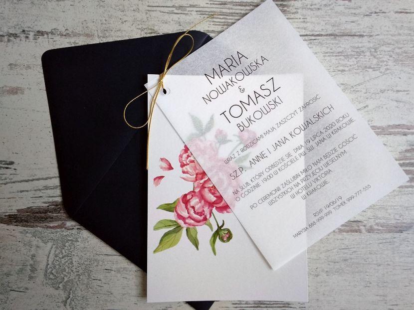 Zaproszenia ślubne: Nowości N20204 - zdjęcie nr 1