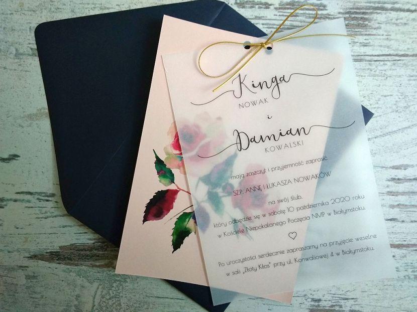 Zaproszenia ślubne: Pastellove PL9201 - zdjęcie nr 2