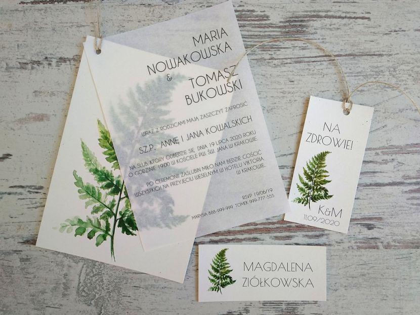 Zaproszenia ślubne: Nowości N202012 - zdjęcie nr 3
