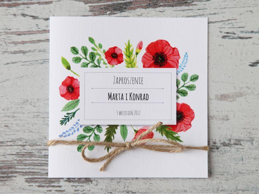 Zaproszenia ślubne: Pastellove PL51 - zdjęcie nr 1