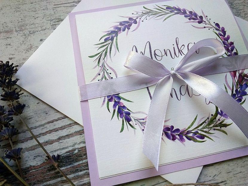Zaproszenia ślubne: Nowości NW693 - zdjęcie nr 3