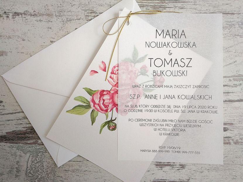 Zaproszenia ślubne: Nowości N20204 - zdjęcie nr 4