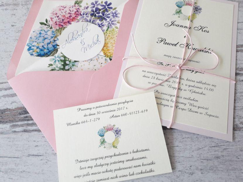 Zaproszenia ślubne: Pastellove PL55 - zdjęcie nr 2