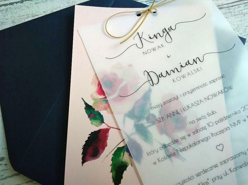 Zaproszenia ślubne: Pastellove PL9201 - zdjęcie nr 3