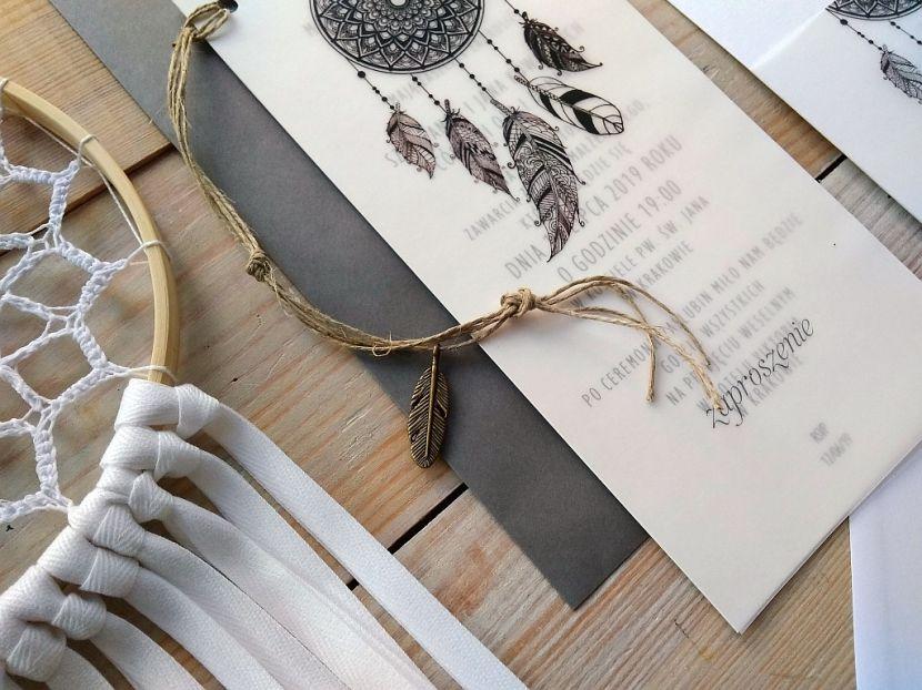Zaproszenia ślubne: Nowości łs03 - zdjęcie nr 2