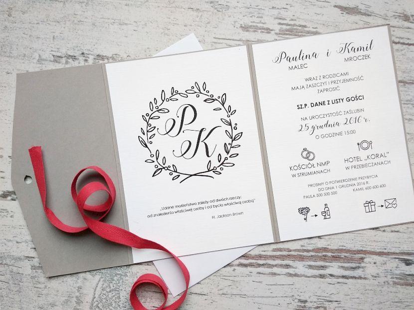 Zaproszenia ślubne: Nowości LP97 - zdjęcie nr 1
